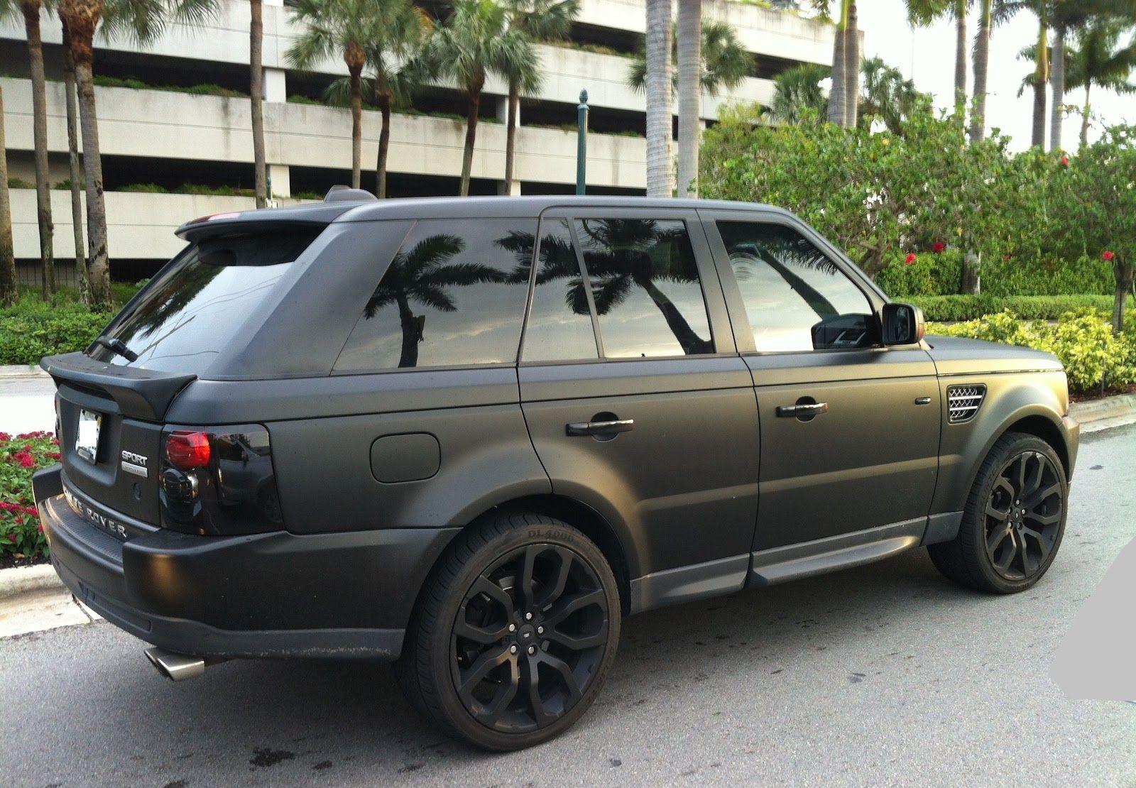 Matte Range Rover >> Matte Black Range Rover Sport Want This For The Husband