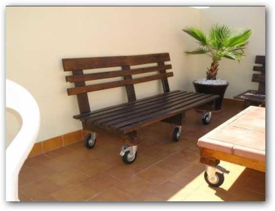 Decoraci n e ideas para mi hogar lindos muebles hechos for Muebles reciclados baratos