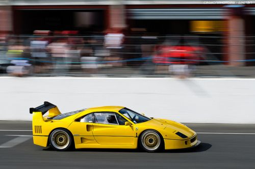 F40 Lm Love It In Yellow Ferrari F40 Ferrari Automotive