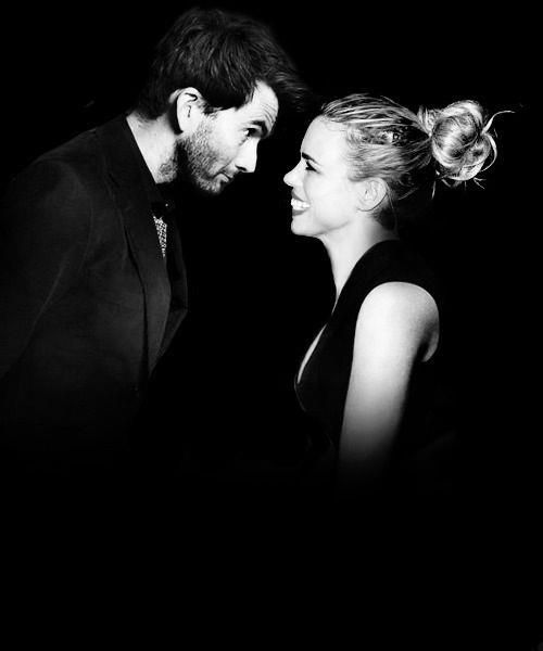 David Tennant and Billie Piper. Love this!! <3