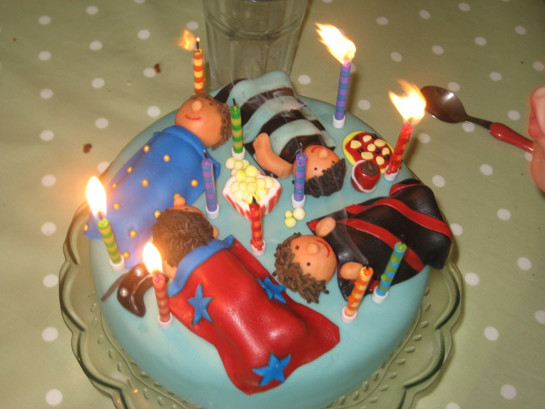 Sleepover Birthday Cake For 11 Year Old Boy Cake Creations