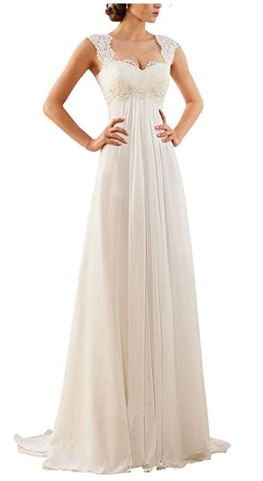 50er Jahre Vintage Rockabilly Hochzeitskleid / Brautkleid kaufen ...