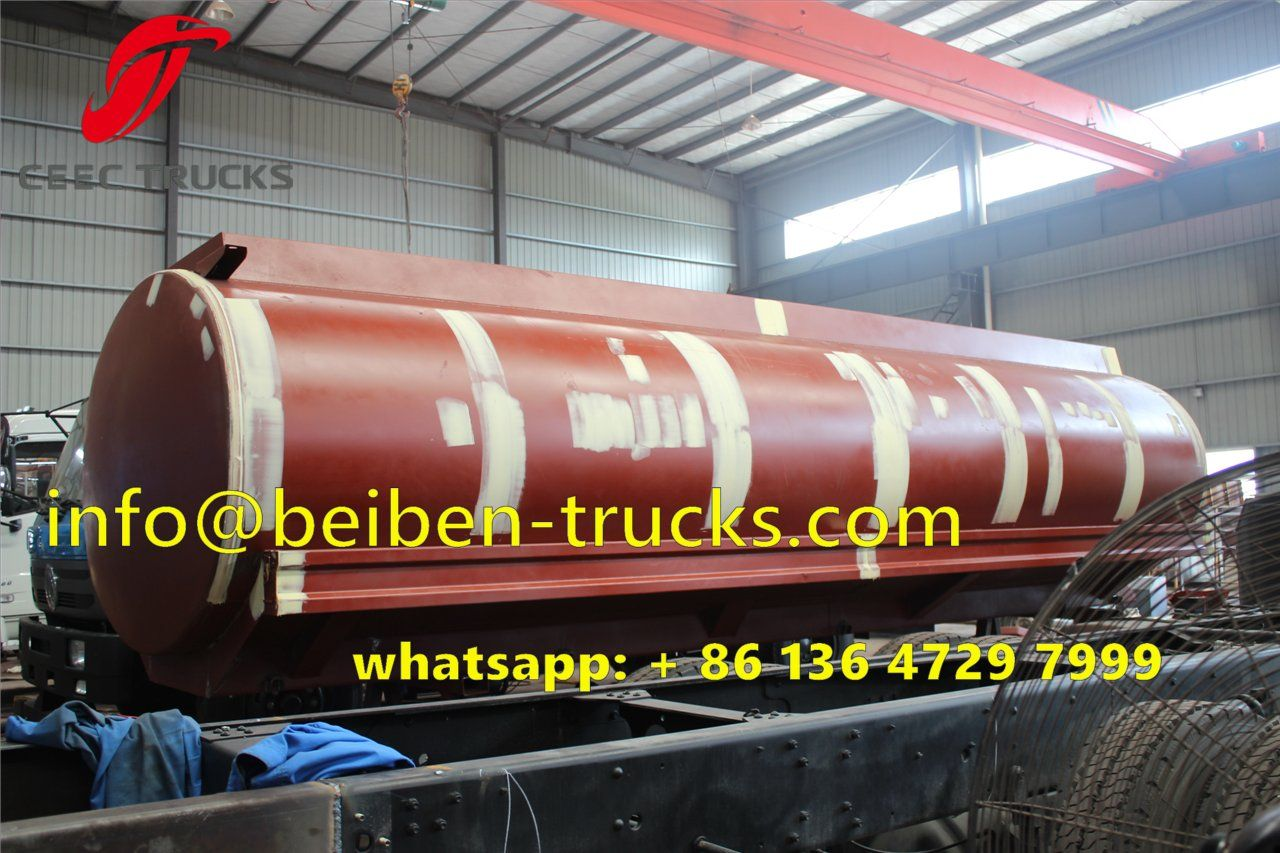 Fuel tanker upper structure for beiben trucks http www beiben