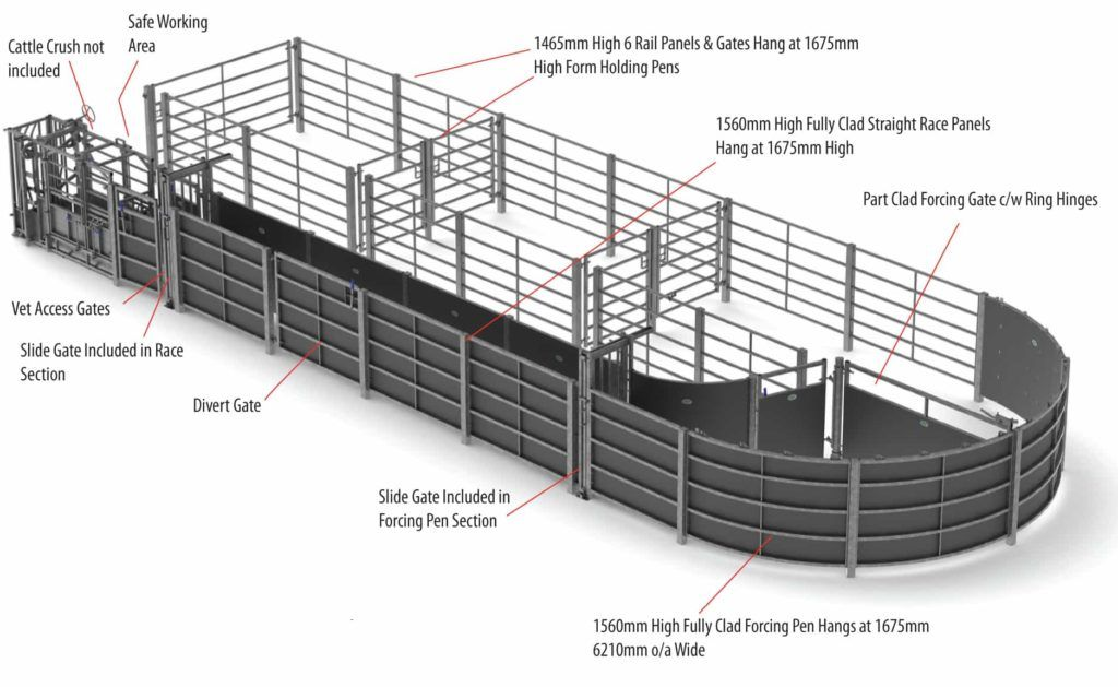 Fixed Cattle Handling Systems