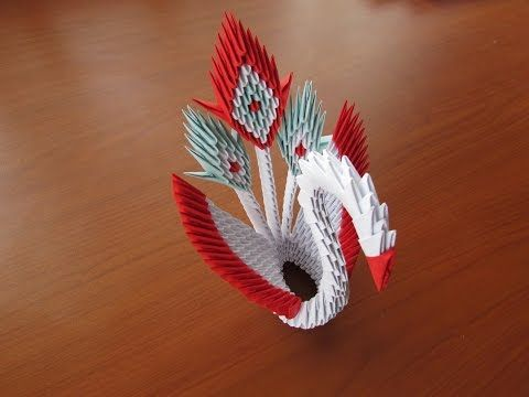Origami Cisne 3d Como Hacer Un De Papel