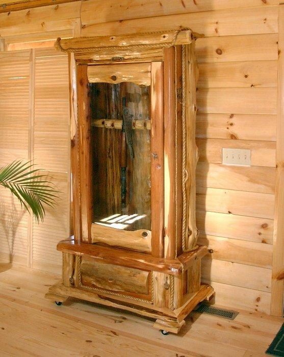 Pin by Dwayne Frazier on Gun Cabinets  Woodworking