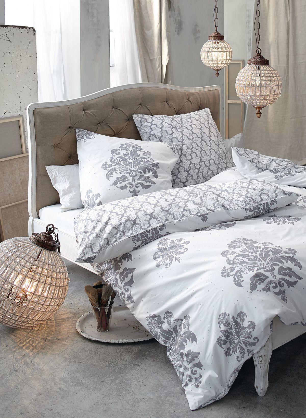 Die Romantisch Arabesken Ornamente Verleihen Dem Gesamten Schlafzimmer  Ästhetik Und Eleganz: Charmante Bettwäsche Mit Reißverschluss, ...