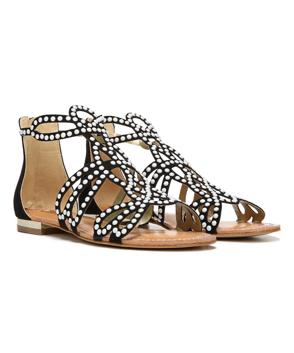 676c2c51bf71 Take a look at this Black Veronica Sandal today!