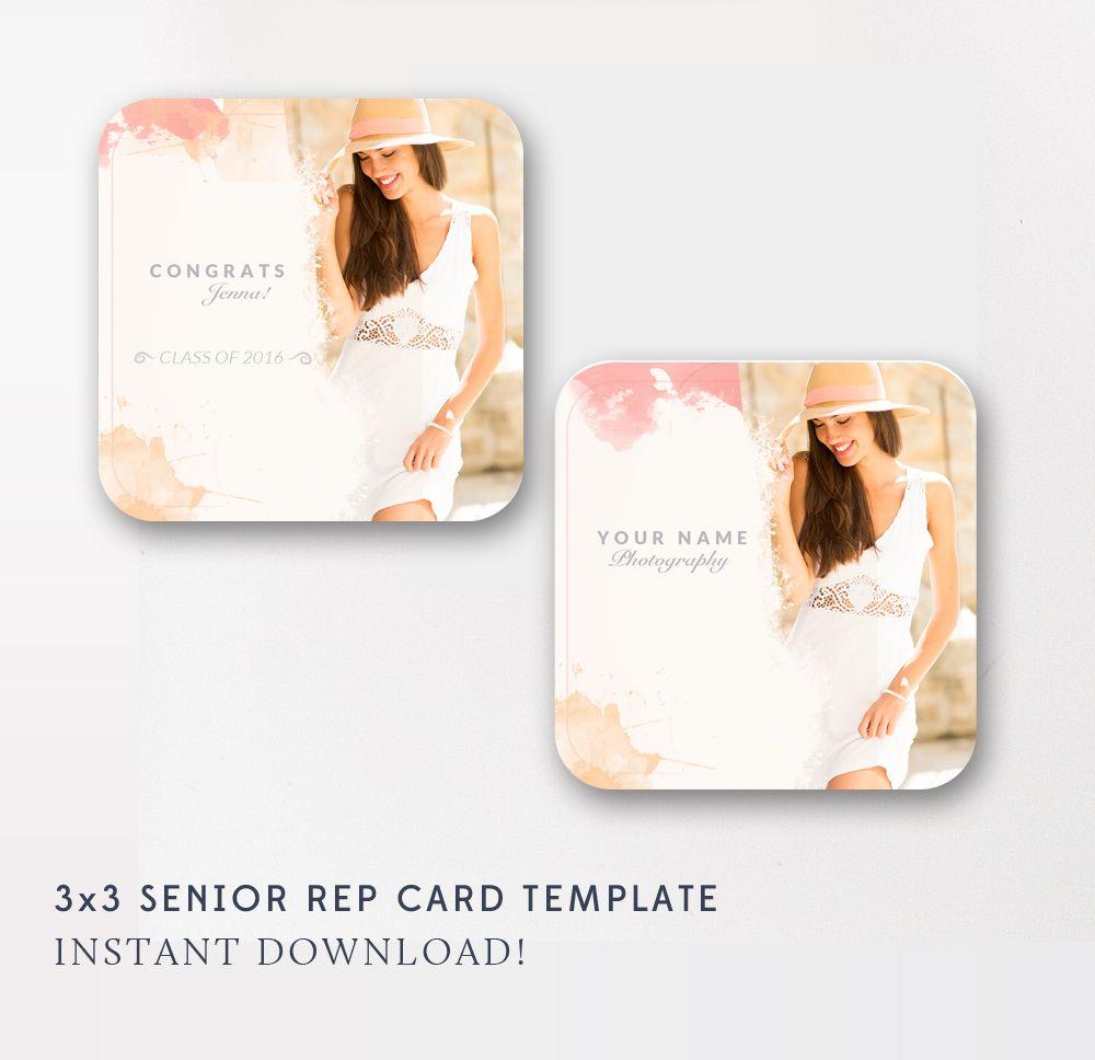 3x3 Senior Rep Card Template - WHCC Senior Referral Card - Senior ...