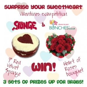 ♥ NEW Valentines Competition From Sponge & Bunches! ♥