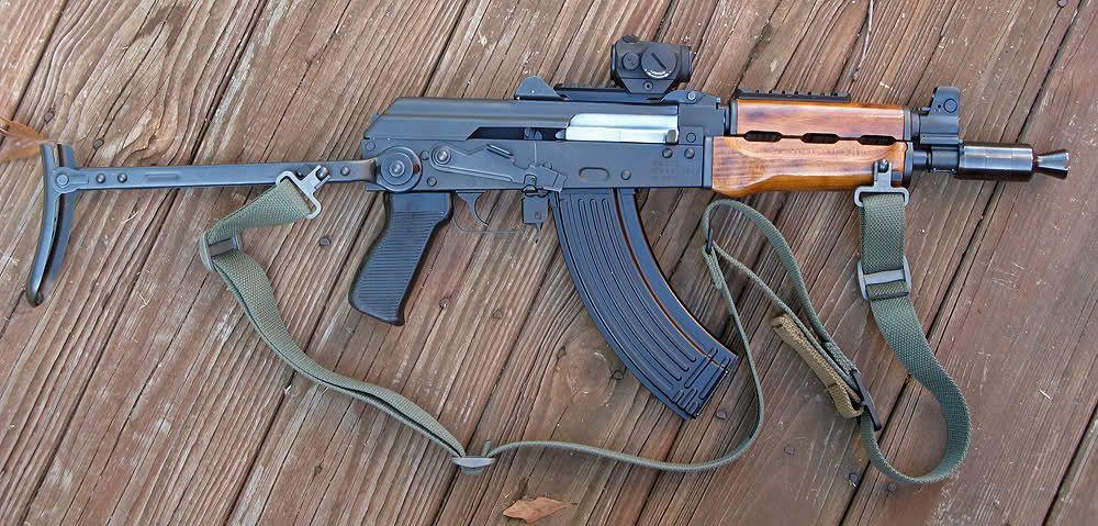 Yugo m92 krinkov with underfolder, optics rail on the