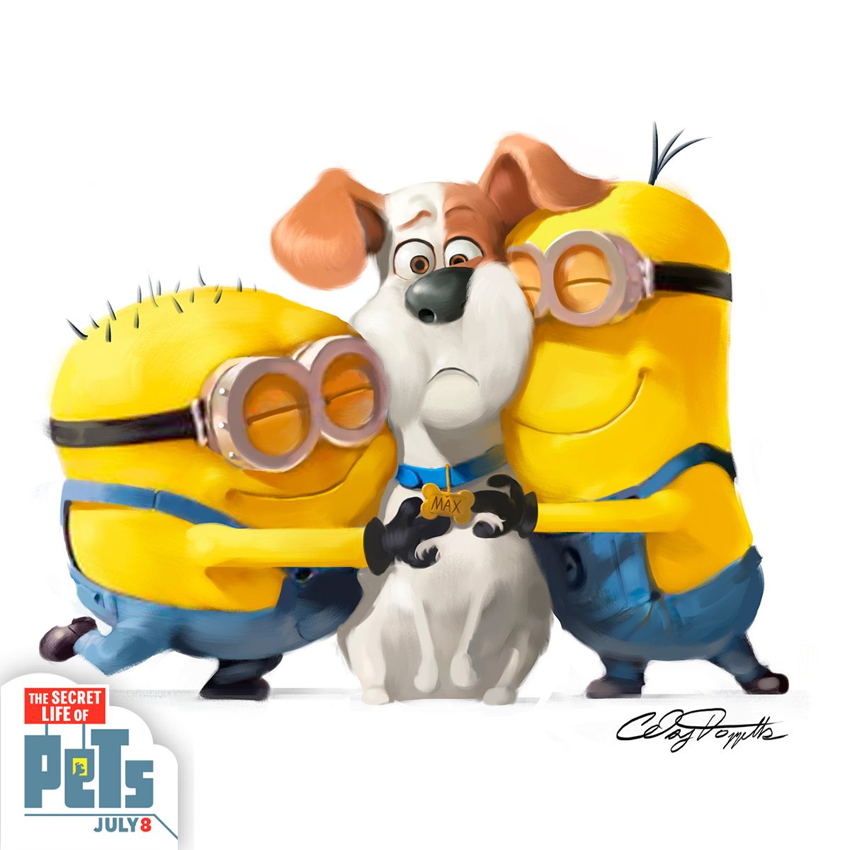 In celebration of National Pet Month, the minionnation