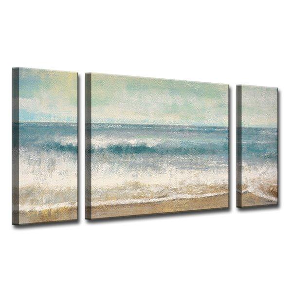Ready2hangart Beach Memories Canvas Wall Decor Set 60 In