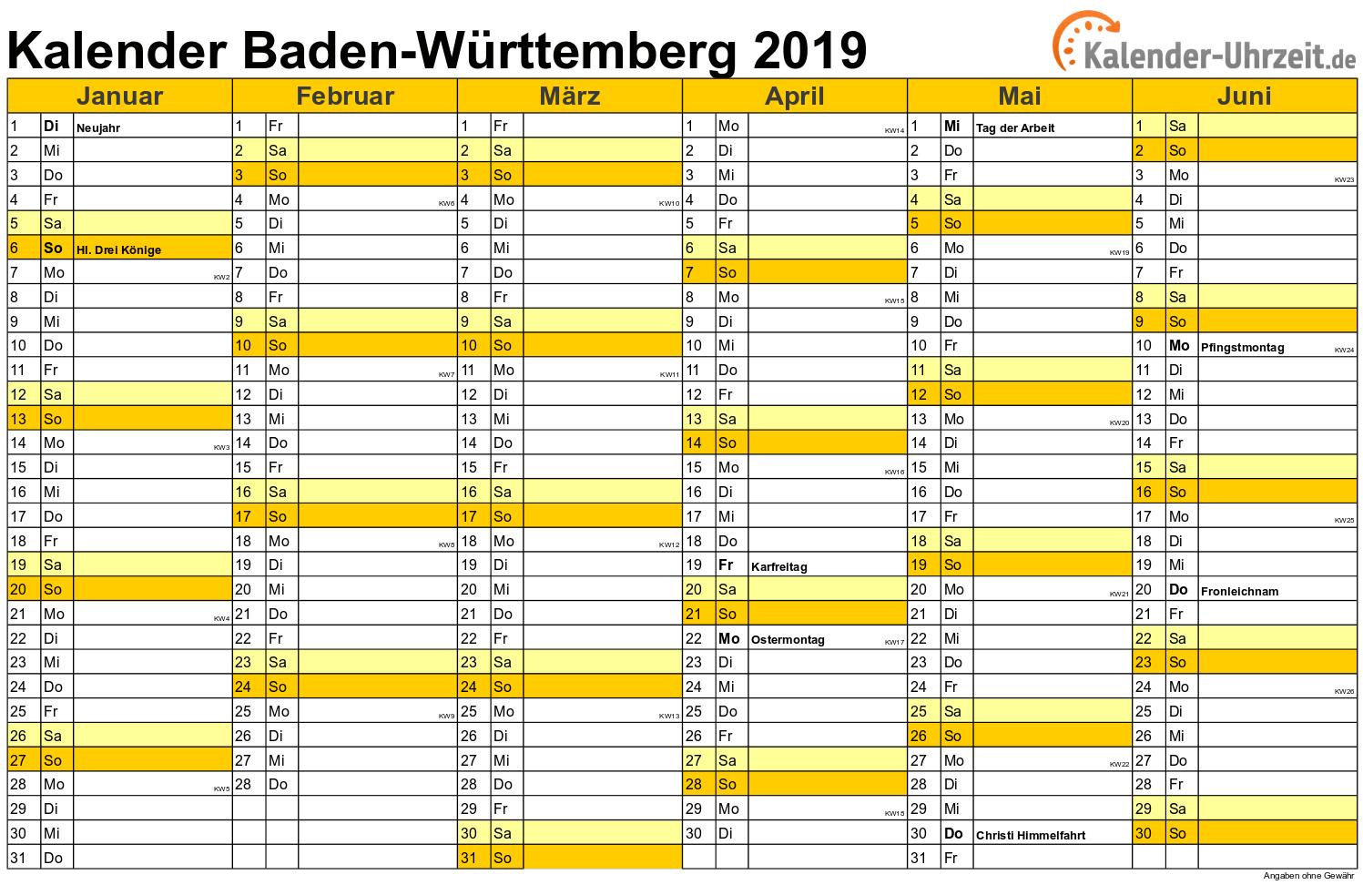 Ferien 2019 Bw Schulferien 2019 Baden 2019 10 25
