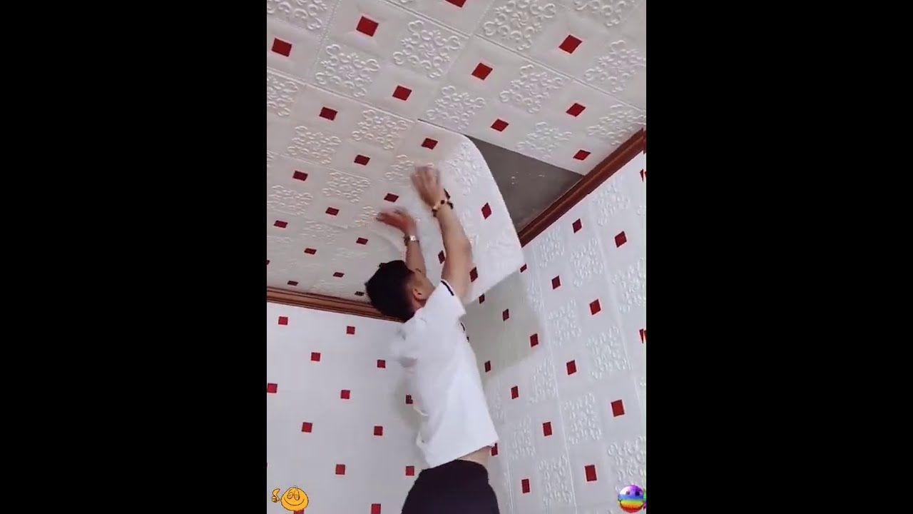 3d Brick Wall Stickers Decor Self Adhesive Waterproof Wallpaper For Kids Youtube Sticker Decor Wall Stickers Brick Wall