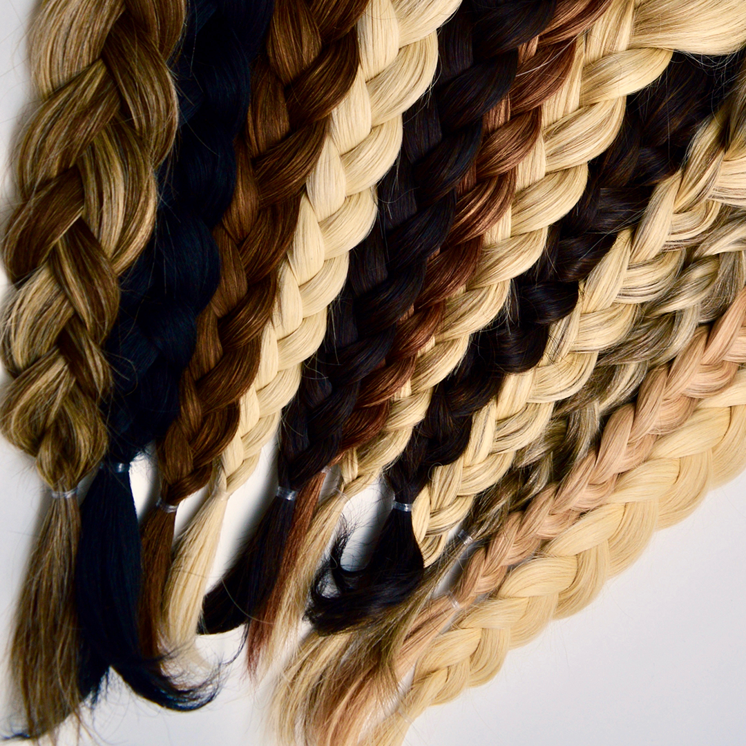The trick to perfect braids is   hair extensions
