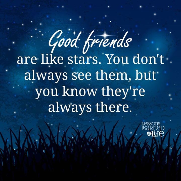 Park Art|My WordPress Blog_Good Friends Are Like Stars Quotes Images