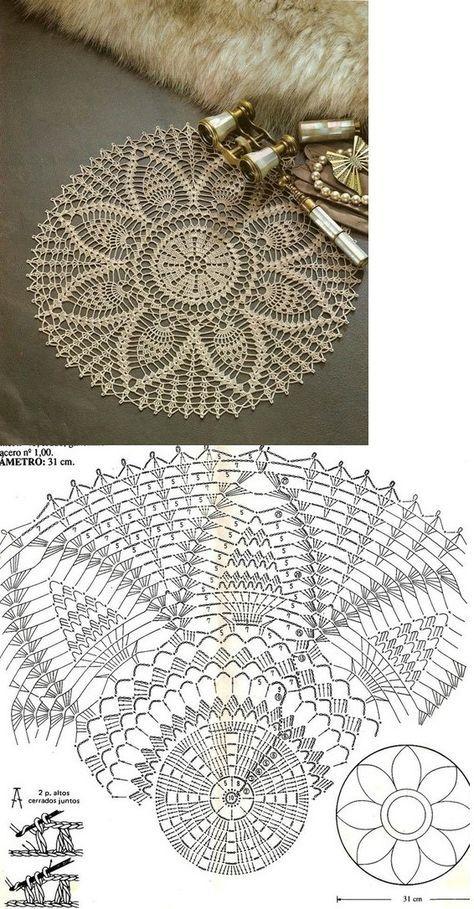 Pin de Noemí Olave en patrones crochet | Pinterest | Crochet ...