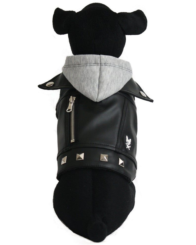 Vegan Leather Dog Jacket Charlie Xs Etsy Dog Jacket Puppy Clothes Dog Clothes Patterns [ 993 x 794 Pixel ]