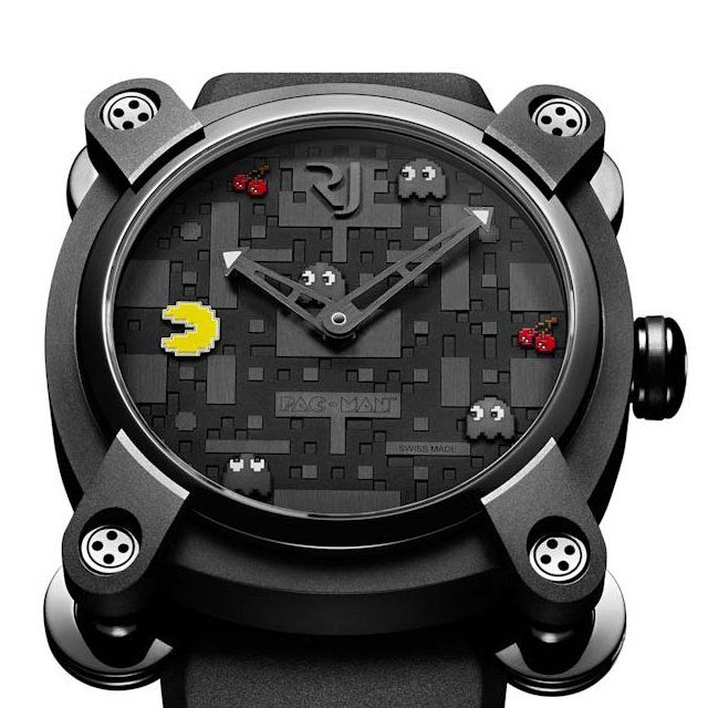 Swiss luxury watchmakerRJ-Romain-Jeromeis taking us on a crazy round ofvideo gameswith a limited series of 80 watches designed after the cult Pac-Man. Historically, Pac-Man followed the huge success of Space Invaders by touching an even larger audience and which for the first time featured women.The watch will only be released at the Colette store in [...]