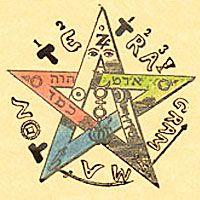 Pentacle De Salomon Le Pentacle De Salomon Donne La Volonté La Persévérance Le Don De Persuasion Philippe Du Soleil Voyan Pentacle Cards Playing Cards
