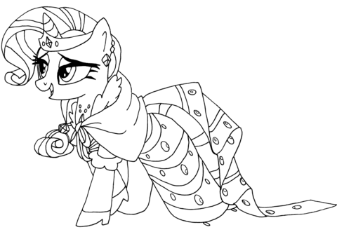 my little pony rarity coloring page | my little pony rarity, my little pony ausmalbilder
