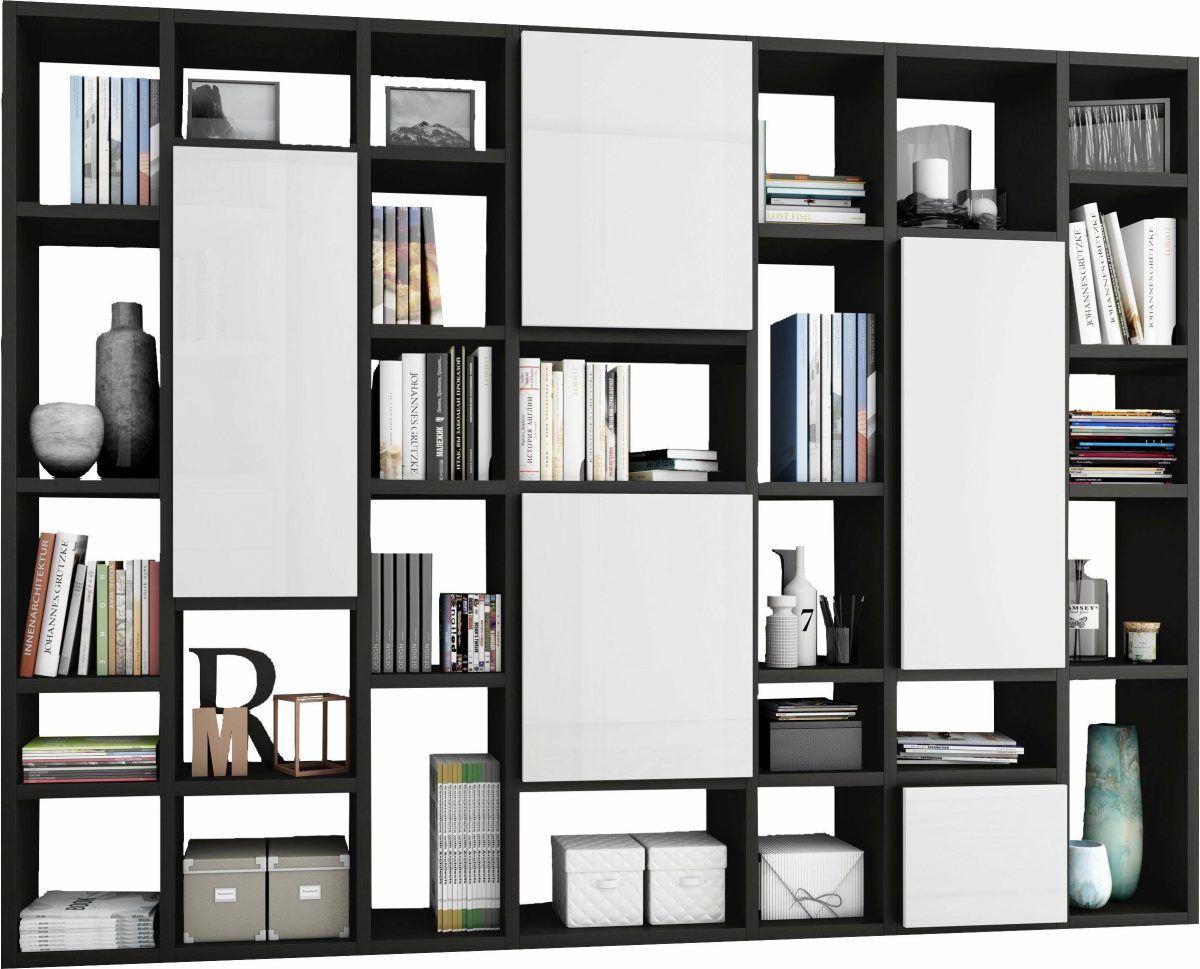 Bücherregal »TORO 10-10« braun, Soft-Close-Funktion, Push to open