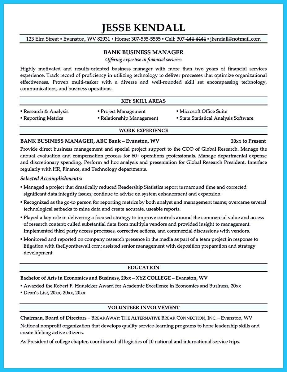 Business Development Manager Resume Cool Marvelous Things To Write Best Business Development Manager