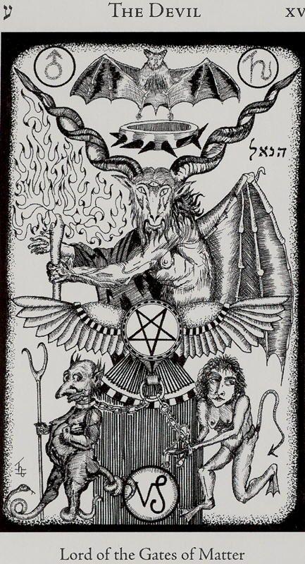 tarot diablo sol