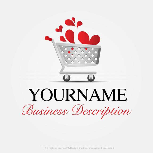 Free Logo Maker Create Logo Online Shopping Cart Logo