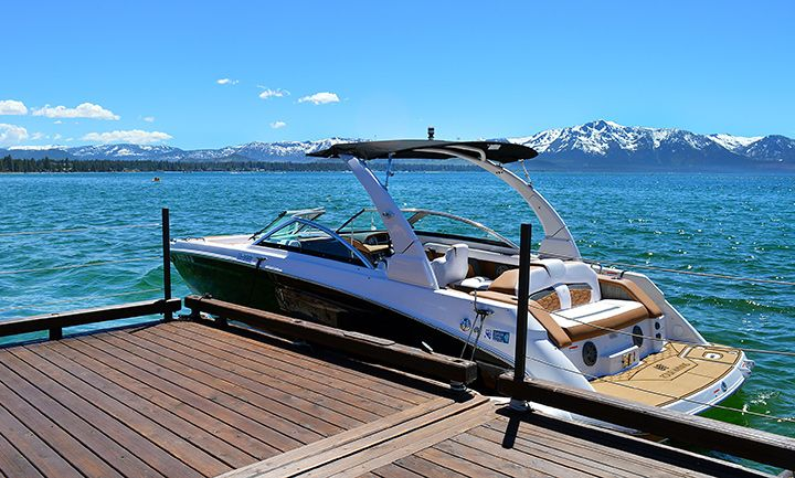 Boat Rental from the Adventure Center at Edgewood Tahoe
