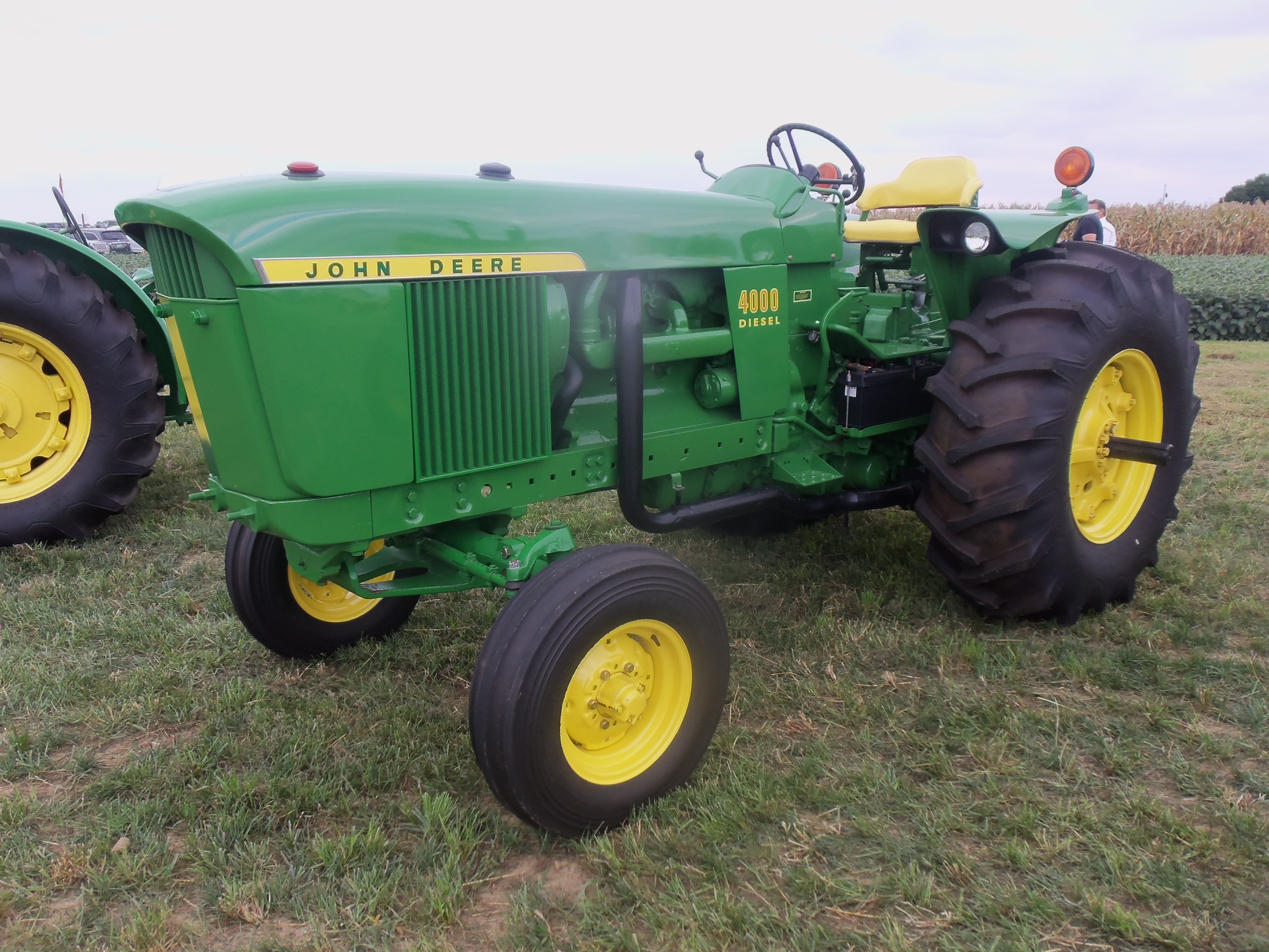 Low Profile Tractor : Hp john deere low profile rial number r