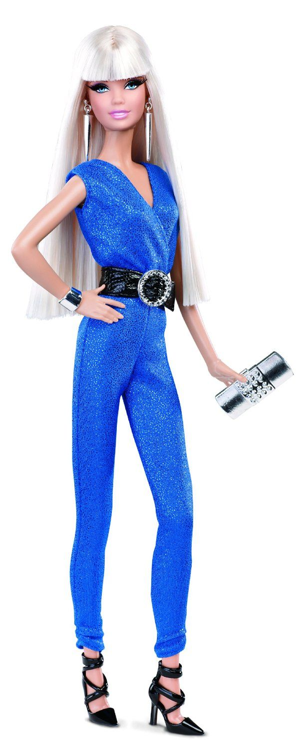 Barbie 2014 Look Collection Blue Jumpsuit: Amazon.es: Juguetes y juegos