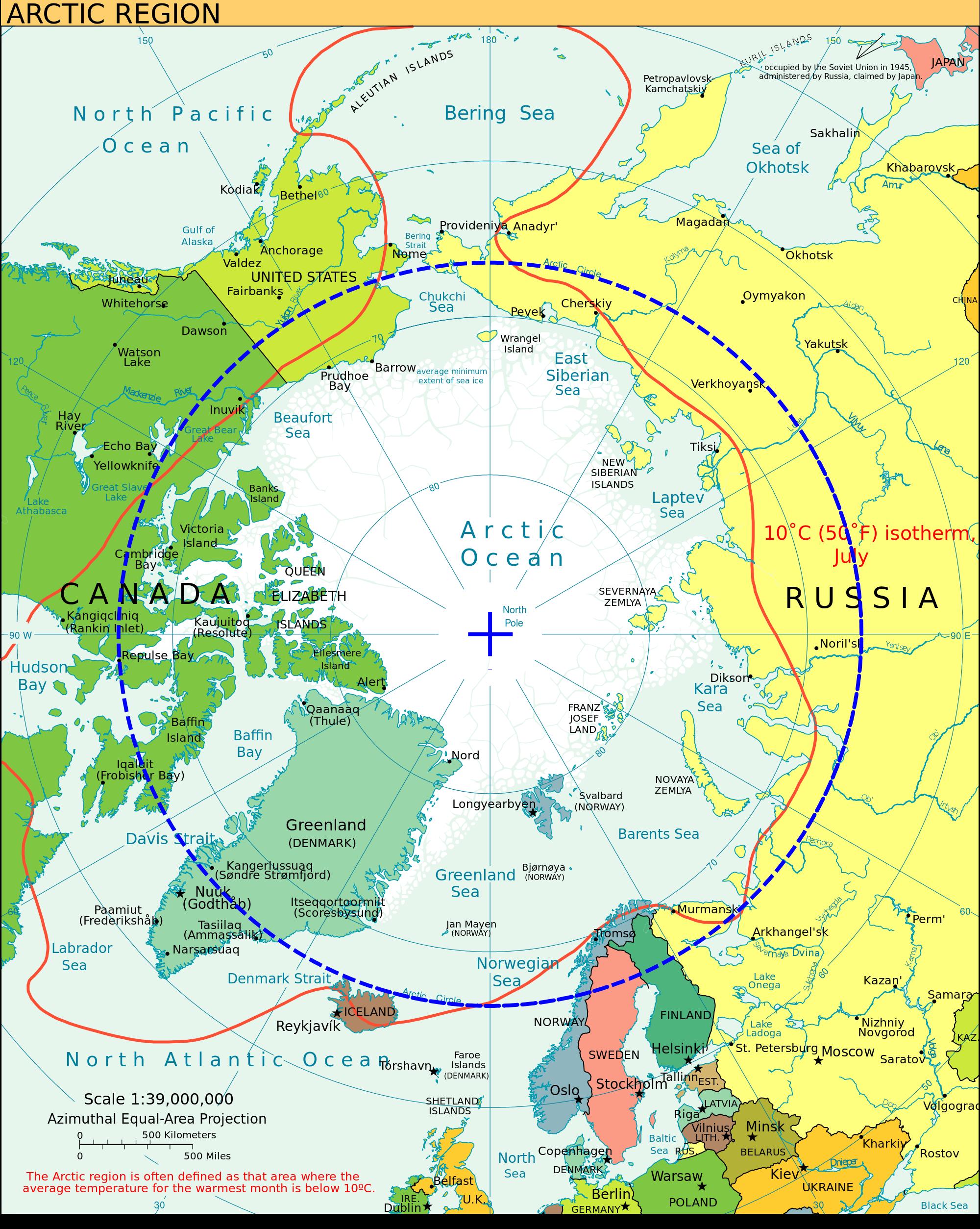 Arctic Region Arctic Circle Arctic Arctic Ocean