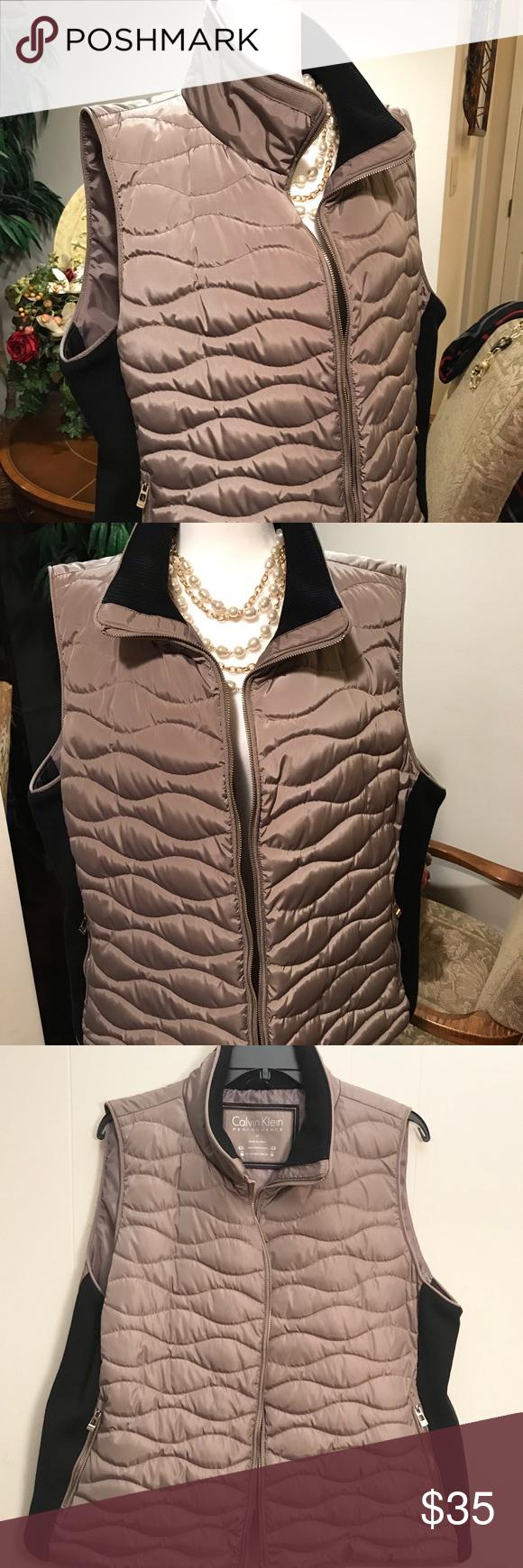 New Calvin Klein Performance Puffer Jacket Vest Vest Jacket Calvin Klein Clothes Design [ 1740 x 580 Pixel ]