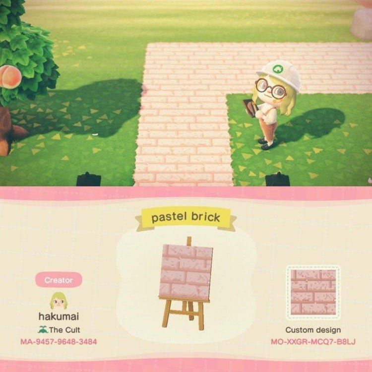 25 New Path QR Codes For 'Animal Crossing: New Horizons'