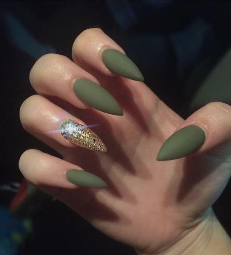 Fall Nail Ideas Gorgeous Nails Green Nails Nails