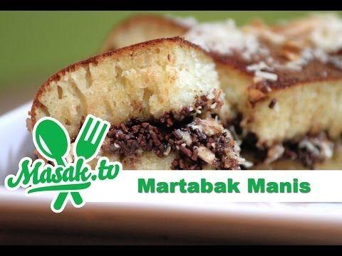 Martabak Manis Atau Terang Bulan Atau Kue Bulan Atau Apam Balik Adalah Penganan Sejenis Kue Dadar Yang Biasa Dijaja Makanan Resep Masakan Indonesia Kue Dadar