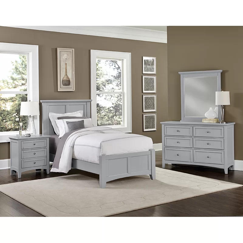 23 Best Grey Bedroom Ideas And Designs For 2020: Gastelum 5 Drawer Chest In 2020