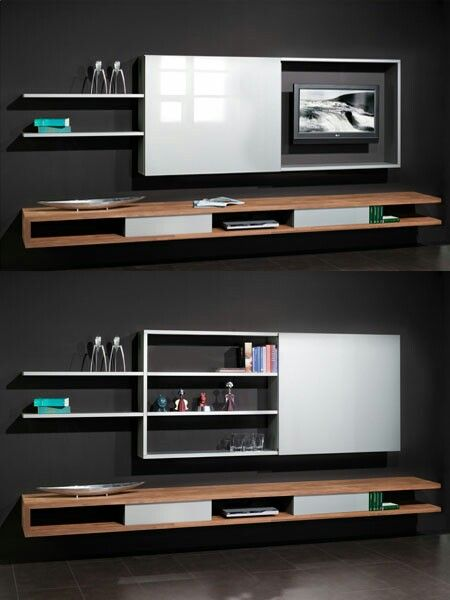 prachtige tv kast meuble tv pivotant tele murale etagere placard ecran plat