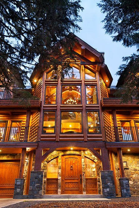 Astounding Most Beautiful Log Homes In America This Log Cabin Has A Download Free Architecture Designs Scobabritishbridgeorg