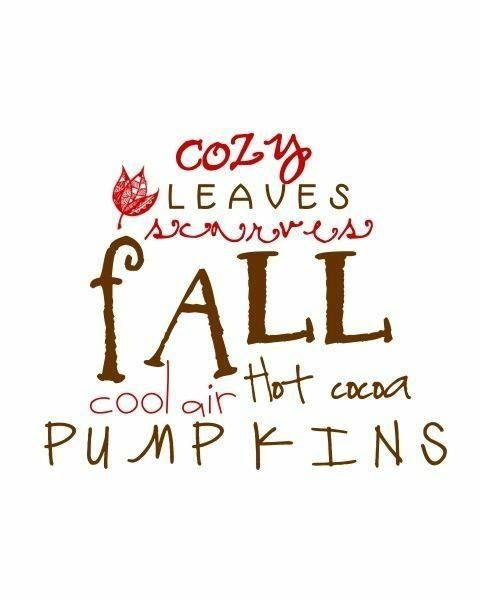Image result for fall things pinterest