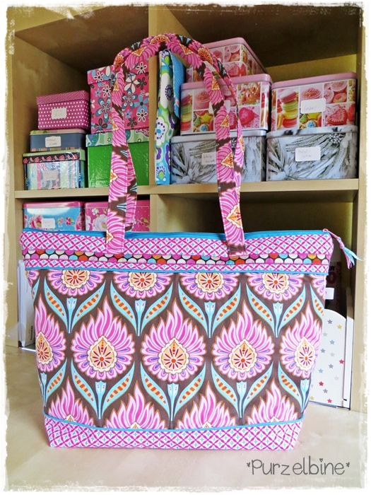 lillesol & pelle Schnittmuster/ pattern: Basic Bag | lillesol ...