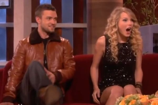 Throwback To When Ellen Surprised Taylor Swift With Her Crush Justin Timberlake Taylor Swift Justin Timberlake Justin Timberlake Video