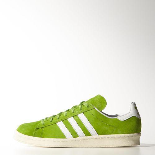 adidas - Men's Nigo Campus 80s Shoes Semi Solar Green / Ftwr White / Cream White M19209
