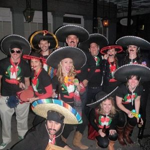 diy halloween costume ideas group costume mariachi band - Band Halloween Costumes