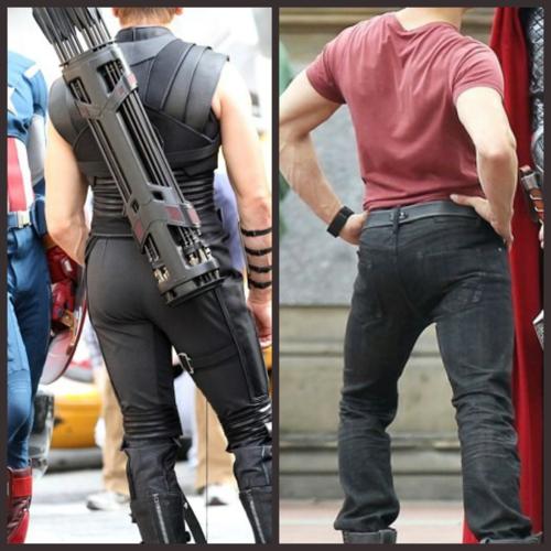 Jeremy Renner Shares Avengers