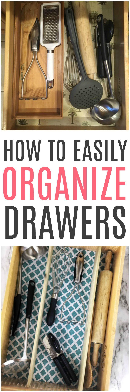 Easy To Make DIY Drawer Organizer Diy drawer organizer