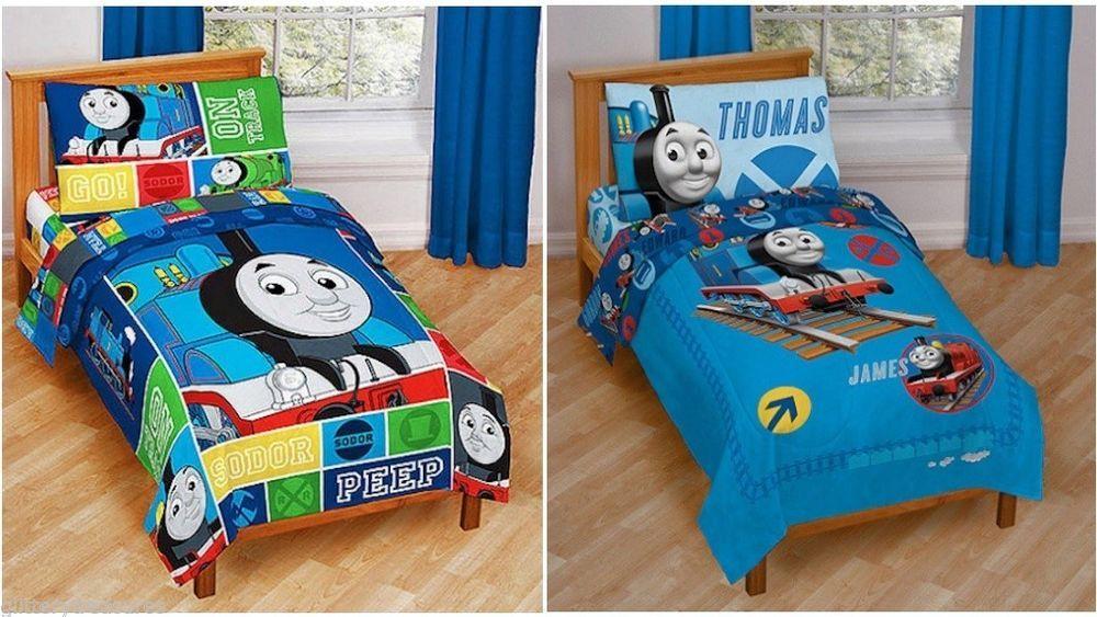Details About New Boys Thomas The Train Thomas Friends 4 Piece
