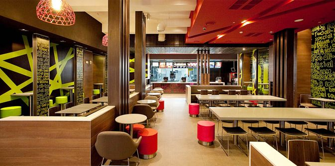 Mcdonald 39 S Form Style Prototype Australia Juicy Design Contemporary Qsr Interiors
